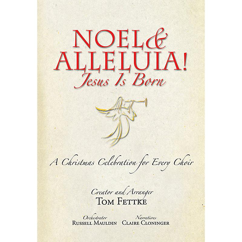 Noel & Alleluia! Jesus is Born - Stereo Accompaniment CD