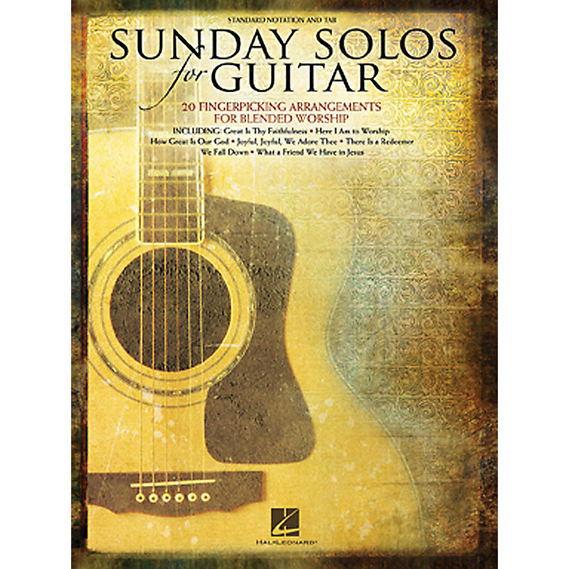 Sunday Solos for Guitar