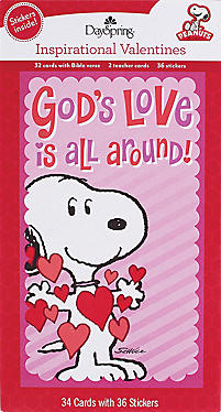 peanuts christian valentines