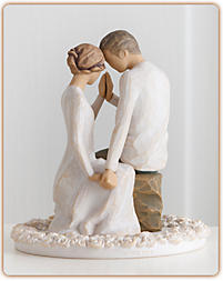Willow Tree Together Wedding Cake Topper Figurine