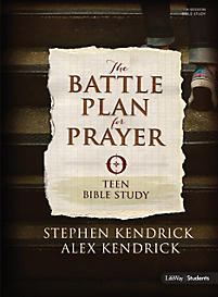 The Battle Plan For Prayer Teen Bible Study Degrie