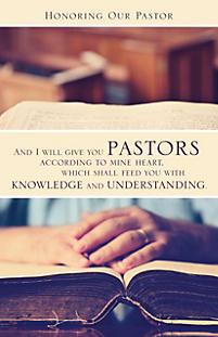 Honoring Our Pastor | Broadman Church Supplies Staff