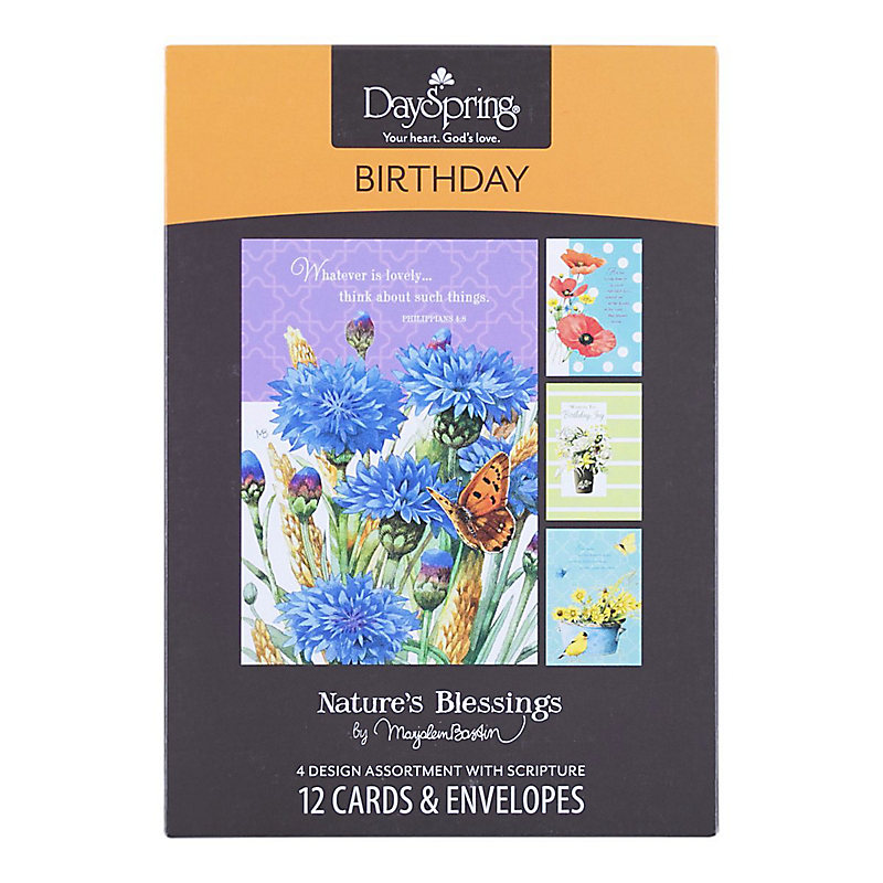 Boxed Cards Birthday Blessing – Boxed Cards Birthday