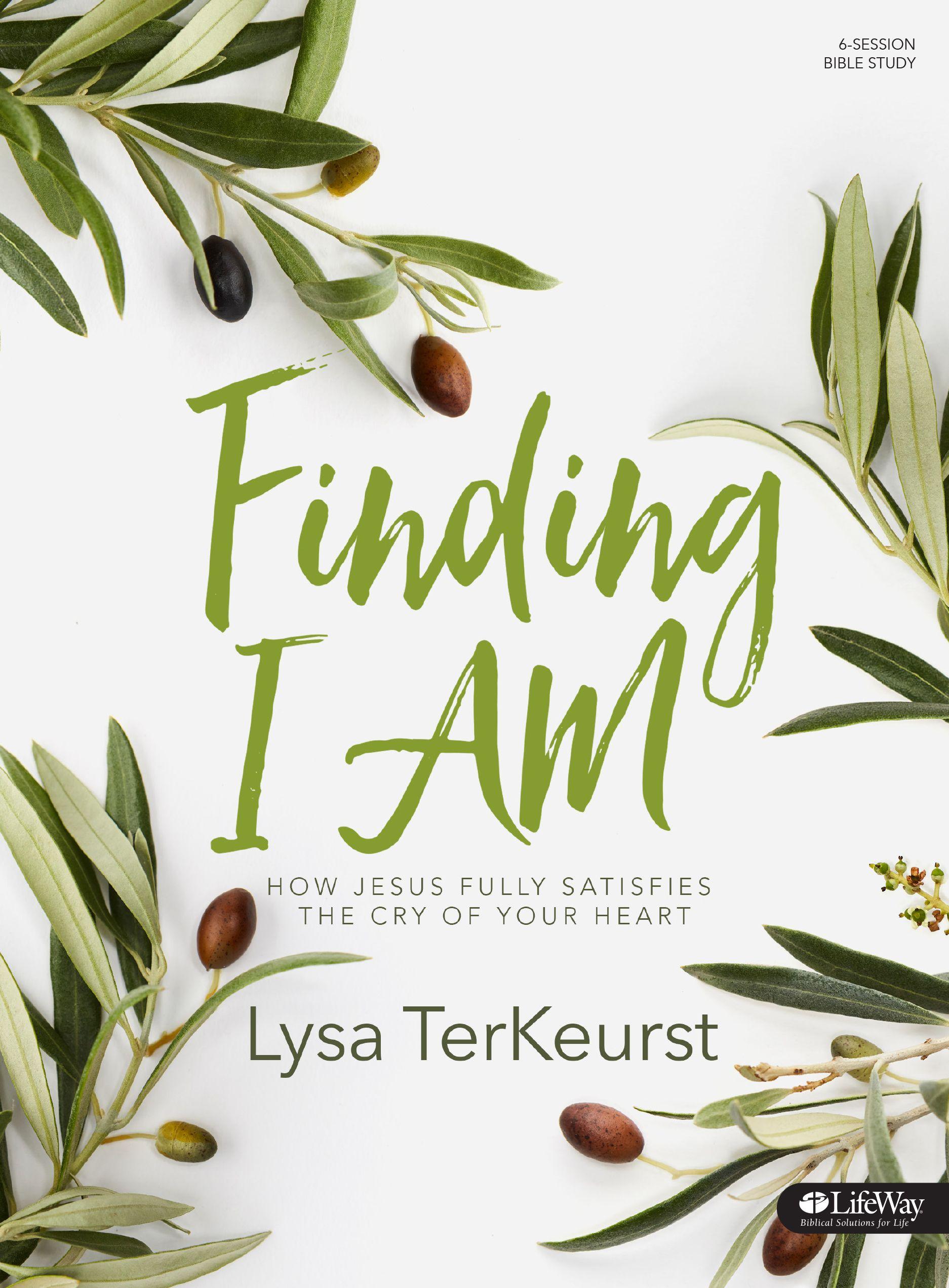 Finding I Am Bibe Study by Lysa TerKeurst