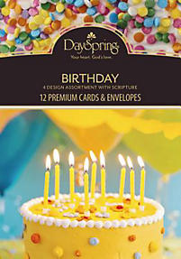 Let's Celebrate Premium Birthday Cards