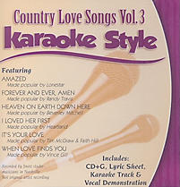 Country Love Songs, Volume 3
