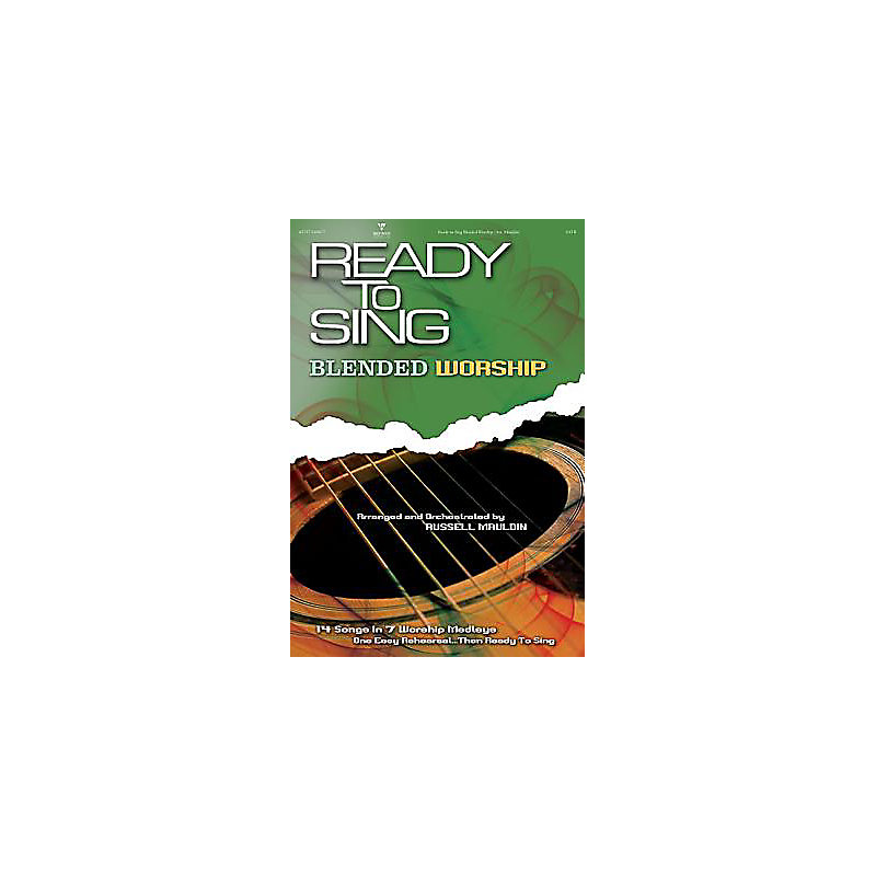 Ready to Sing Blended Worship; SATB With CD (Audio)
