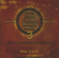 All the Best Songs of Praise & Worship 3 - Split-Track Accompaniment CD (Disc Three)