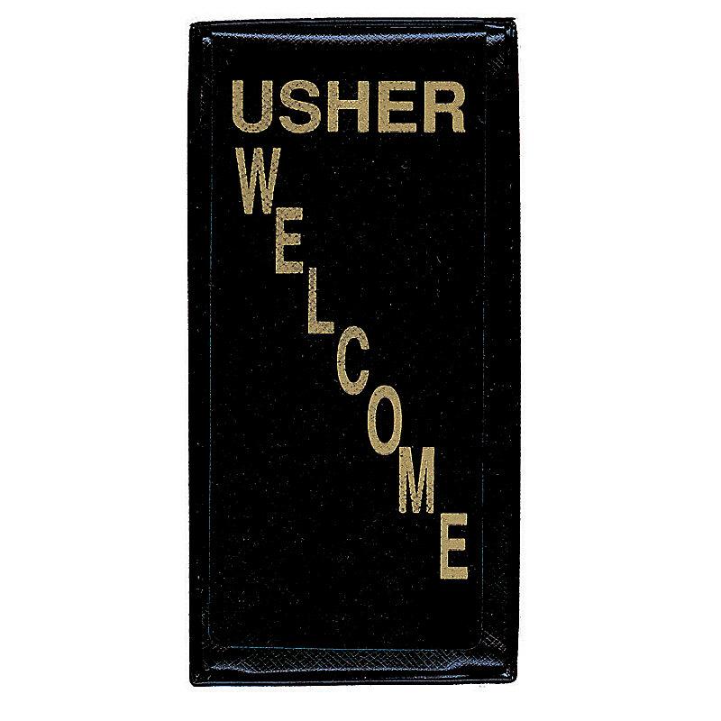 Usher Badge, Black