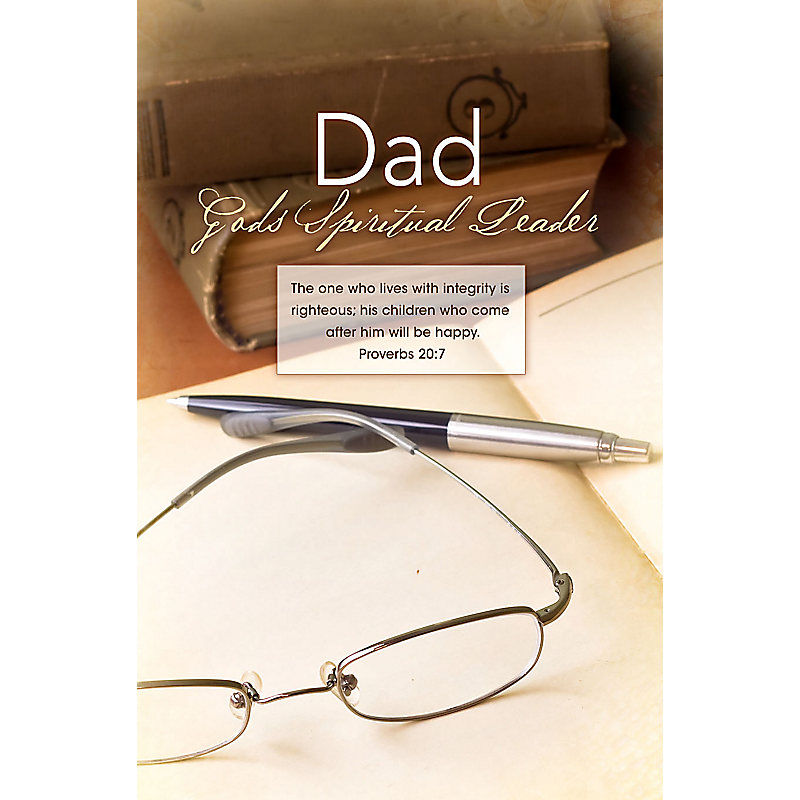 Bulletins - Father's Day God's Spiritual Leader