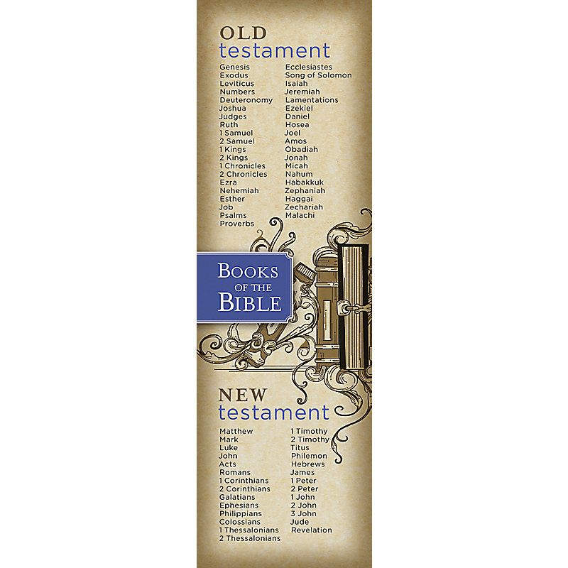 Books of the Bible (Bookmark)