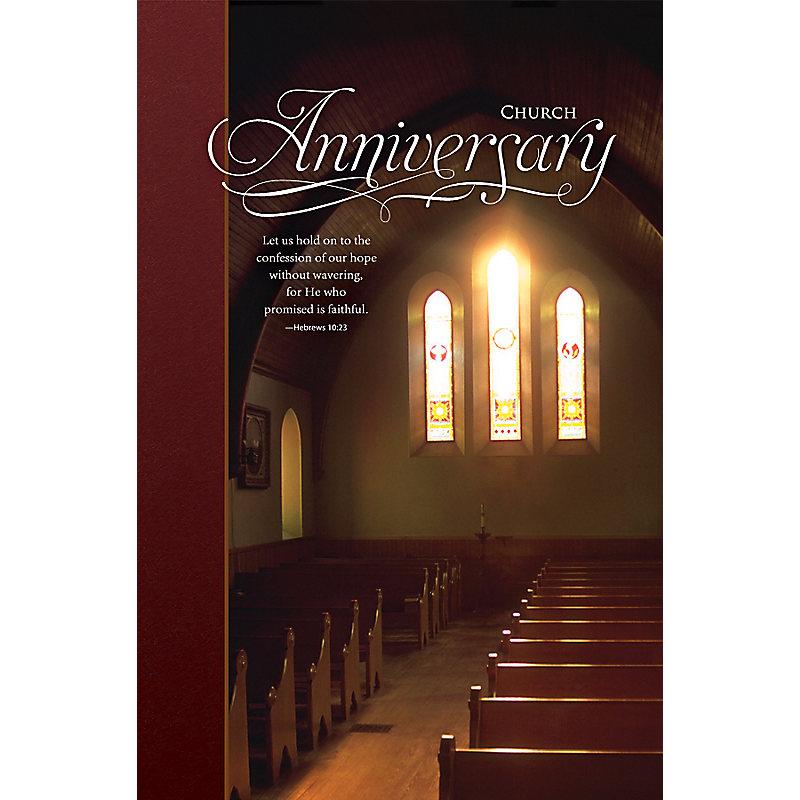 Church Anniversary (Bulletins)