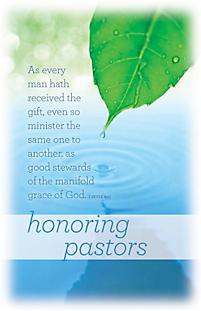 Honoring Pastors - Bulletin | LifeWay Christian Bulletin