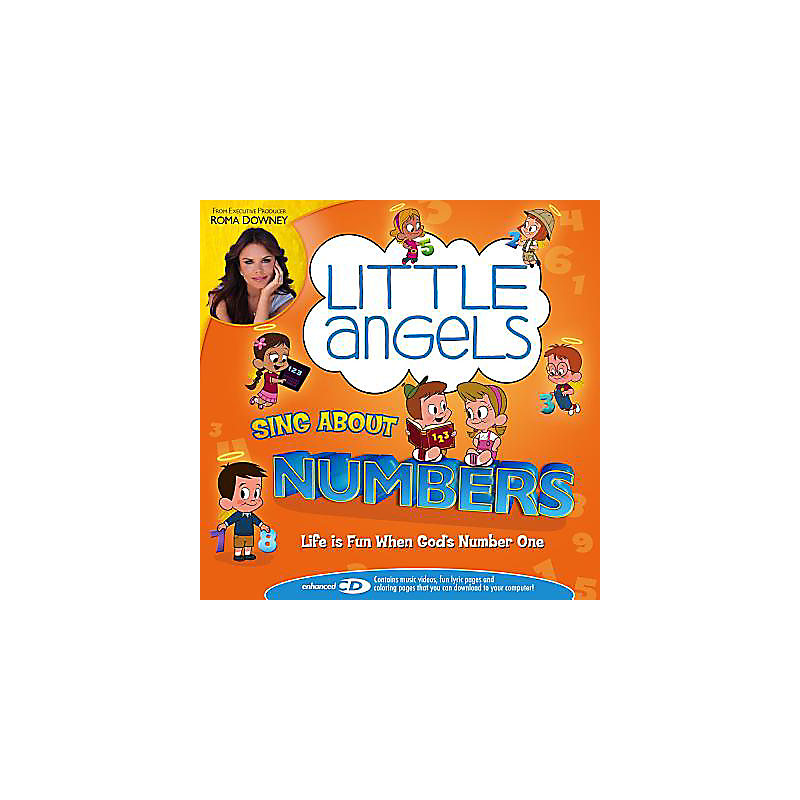Little Angels Vol. 3 Sing About Numbers CD