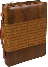 Courageous Bible Cover (Large)