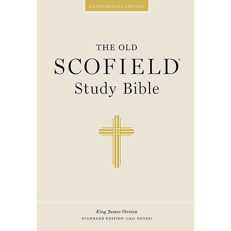 Old Scofield Study Bible-KJV-Standard (Purple)