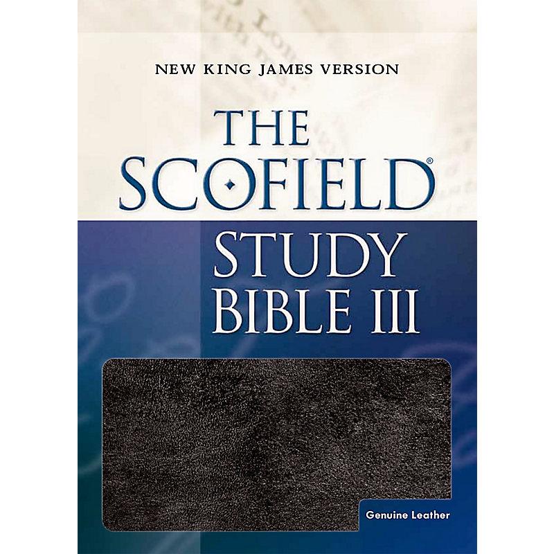 Scofield Study Bible-NKJV (Burgundy)