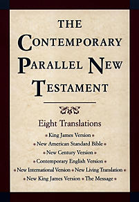 Contemporary Parallel New Testament Bible-PR-KJV/NASB/Ncv/Cev/NIV/Nlt (Multi-Colored)