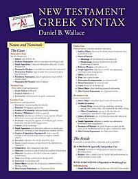 New Testament Greek Syntax