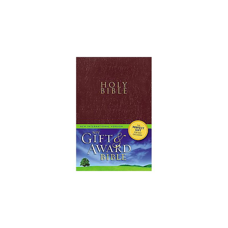 Gift and Award Bible-NIV                                                                                                                               (Burgundy)