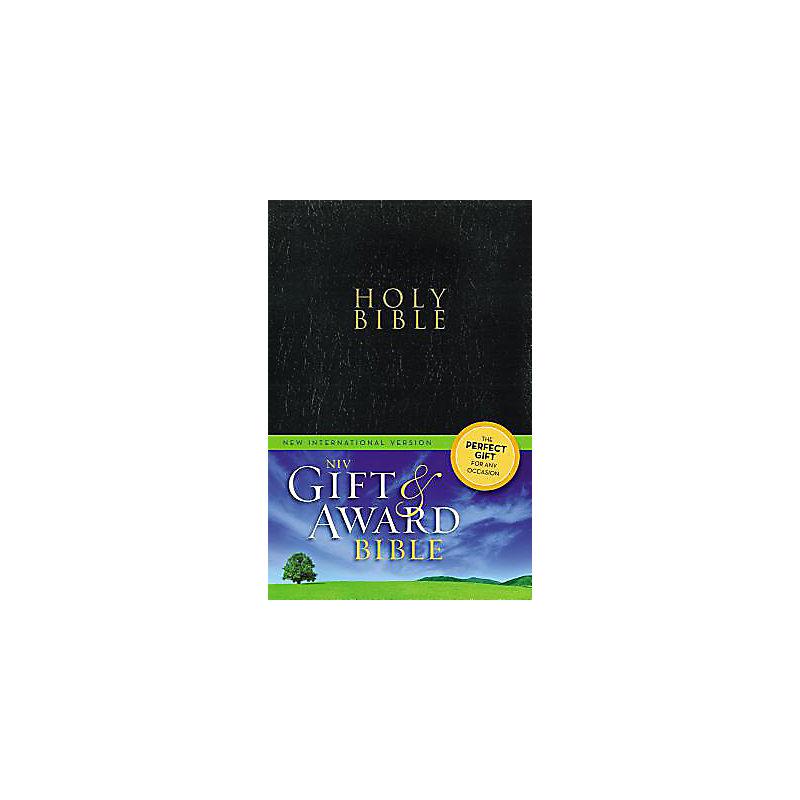Gift and Award Bible-NIV                                                                                                                               (Black)
