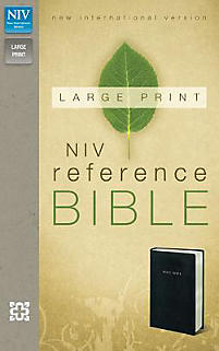 Reference Bible-NIV-Large Print                                                                                                                        (Black)