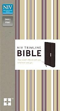 Trimline Bible-NIV-Snap Flap                                                                                                                           (Burgundy)