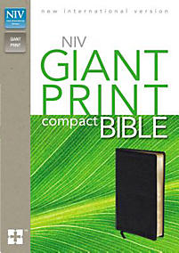 Compact Bible-NIV-Giant Print                                                                                                                          (Black)