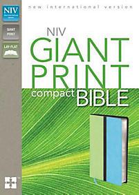 Compact Bible-NIV-Giant Print                                                                                                                          (Melon Green/Turquoise)