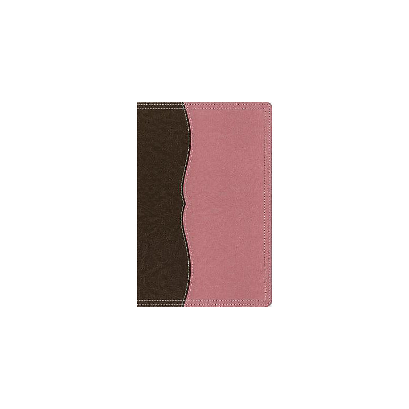 Thinline Reference Bible-NIV-Large Print                                                                                                               (Berry Cream/Chocolate)