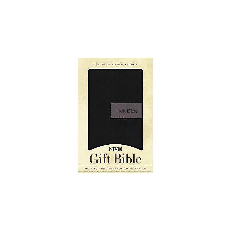 Gift Bible-NIV (Black/Gray)