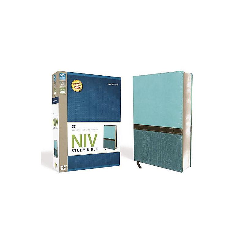 NIV Study Bible - Large Print