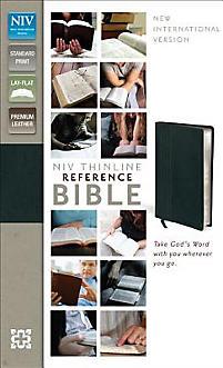 Thinline Reference Bible-NIV                                                                                                                           (Black)