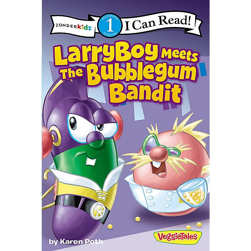 Larryboy Meets the Bubblegum Bandit