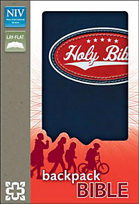 Backpack Bible-NIV                                                                                                                                     (Blue)