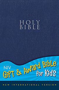 Gift and Award Bible for Kids-NIV                                                                                                                      (Navy)
