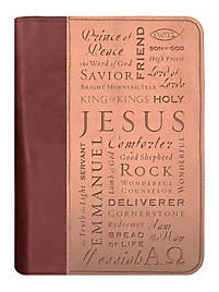 Names of Jesus Bible Cover - Large