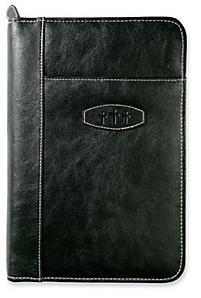 Leather Large Ebony Bible Cover