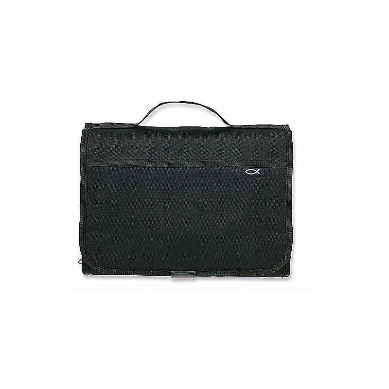 Tri-Fold Organizer Black Lg Value