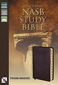 Zondervan Study Bible-NASB                                                                                                                             (Burgundy)