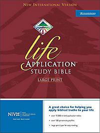 Life Application Bible - Burgundy Bonded Leather