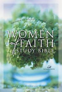Women of Faith Study Bible-NIV                                                                                                                         (Multi-Colored)