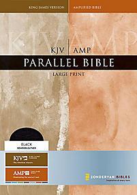 KJV/Amplified Parallel Bible - Large Print (Black)