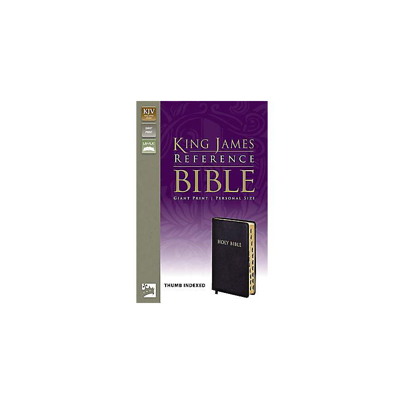 KJV Giant-Print Reference Personal Size Thumb-Indexed