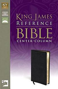 Reference Bible-KJV-Center Column: Black