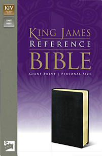 KJV Reference Bible, Giant Print, Personal Size
