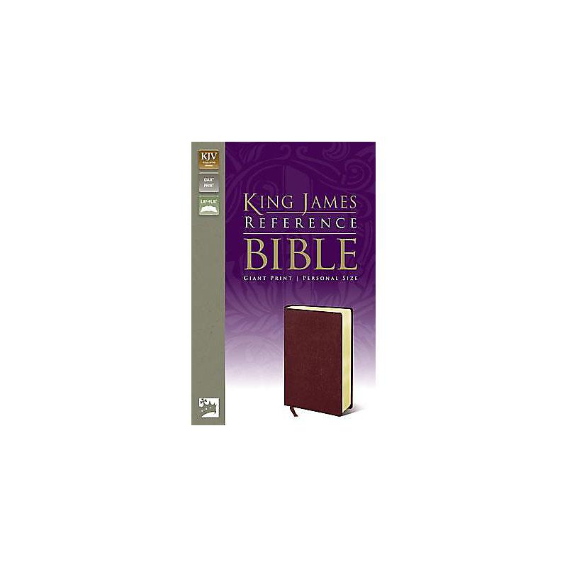 King James Reference Bible, Giant Print Personal Prize - Burgundy
