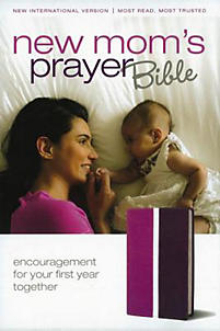 New Mom's Prayer Bible-NIV: Encouragement for Your First Year Together                                                                                 (Dark Orchid/Deep Plum)