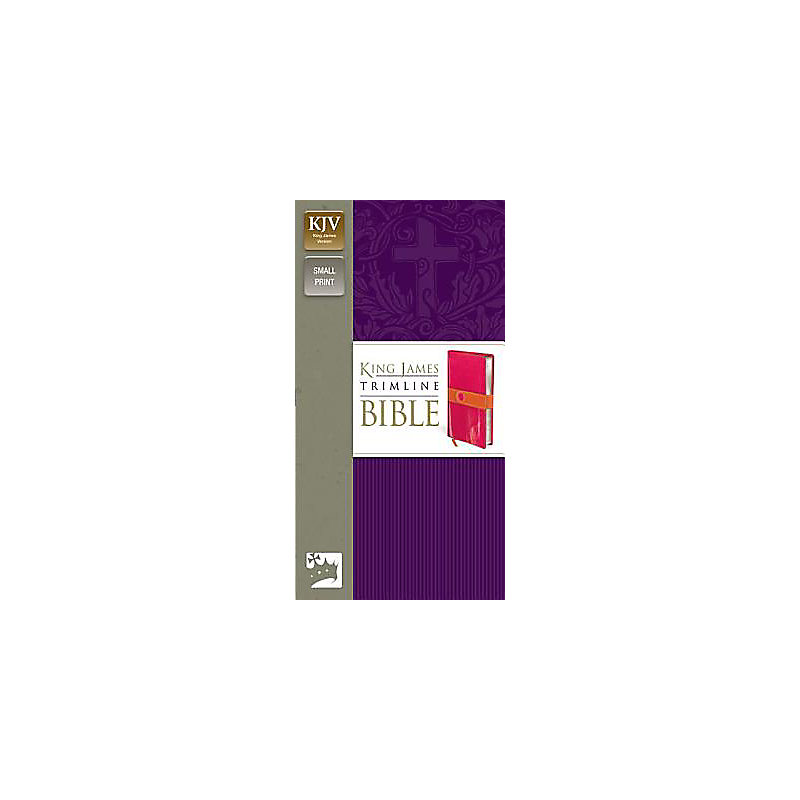 Trimline Bible-KJV                                                                                                                                     (Pink/Orange)