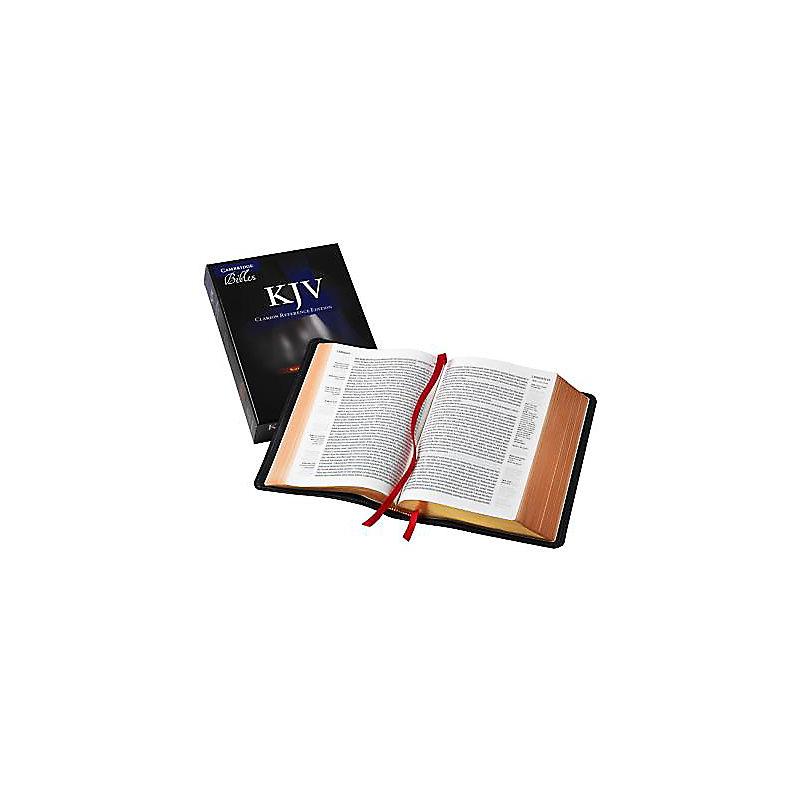 KJV Single Column Black Goatskin Reference Kj486: Xe